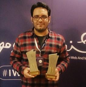 ali jadidi , علی جدیدی , جشنواره وب و موبایل ایران